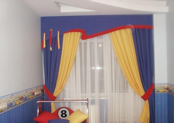 шторы для детской спальни6 (595x420, 27Kb)