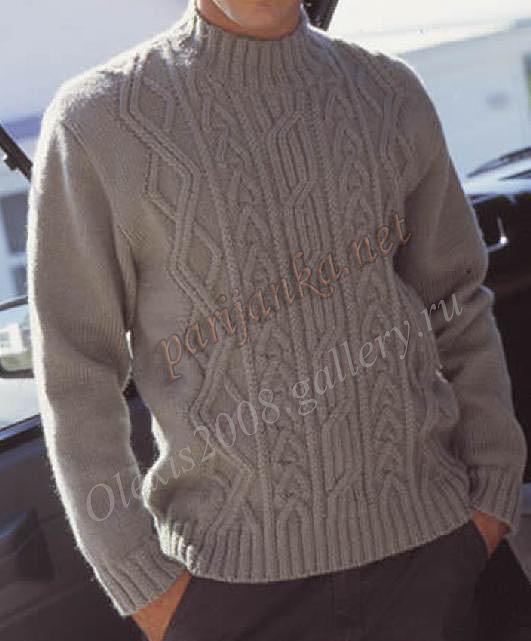 мужской пуловер (531x641, 65Kb)