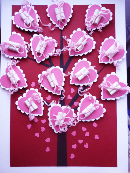 День святого валентина валентинка своими руками