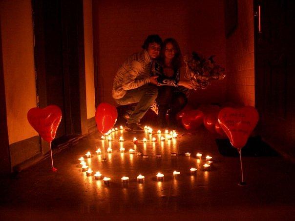 Романтический праздник. будь то раз в неделю, или даже в год. И что