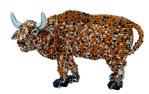 2. 1. Животные из бисера на проволочном каркасе.Автор неизвестен.