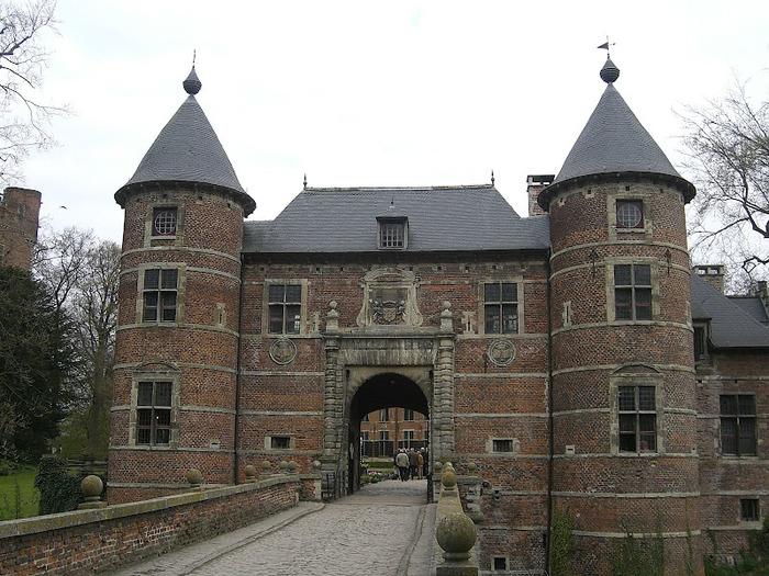 замок Гроот Бейгарден (Groot Bijgaarden) часть 2 64638