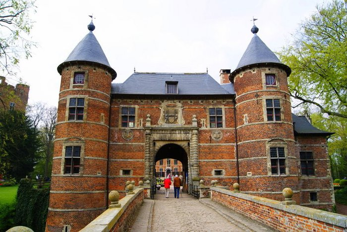 замок Гроот Бейгарден (Groot Bijgaarden) часть 2 98637