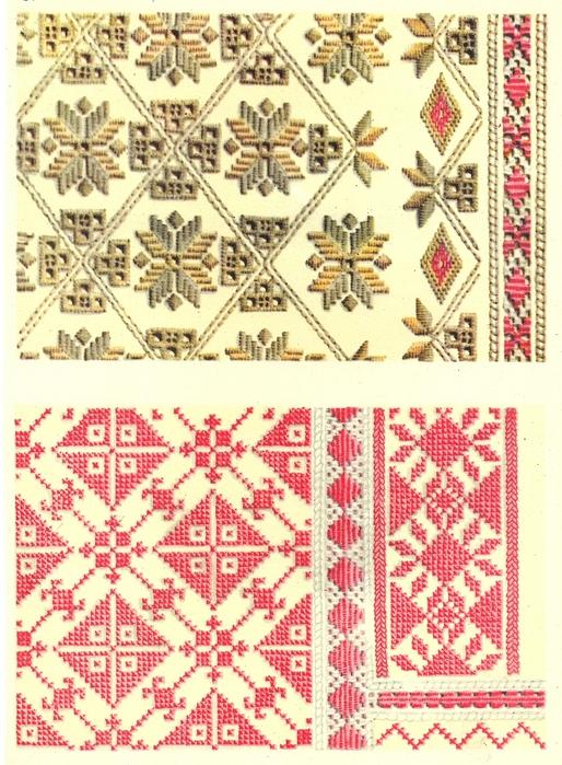Вышивки Черниговской обл