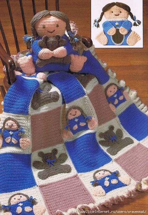 钩针:婴儿毯 - maomao - 我随心动