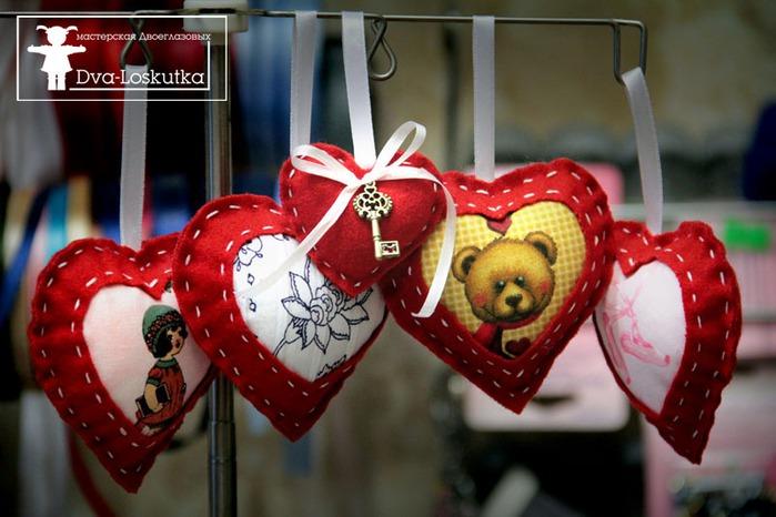 Сердечки из фетра своими руками фото фото 834