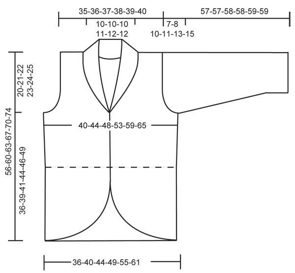 Основа выкройки платья 42 размера