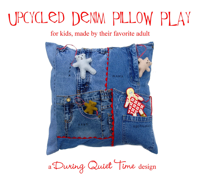 Upcycled Denim Pillow Play (700x628, 313Kb)