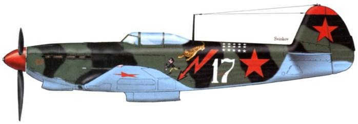 02 Як-9 Степаненко лето 1943 (700x243, 25Kb)
