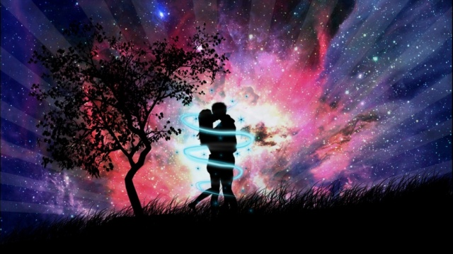Love Couple In The Night (640x360, 100Kb)