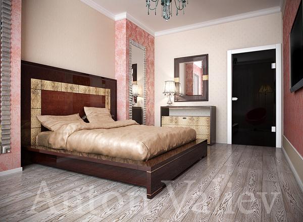 дизайн спальни в стиле арт деко - Стиль жизни.