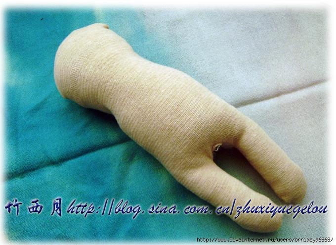 Куколка своими руками из носка 91