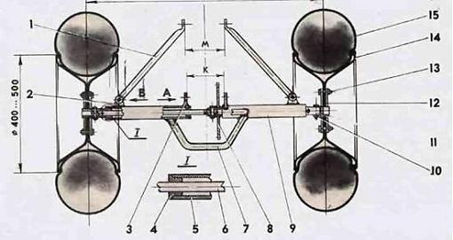 Заметьте, что увеличенному диаметру пневматика необходима и увеличенная звездочка.  Такую звездочку можно соорудить...