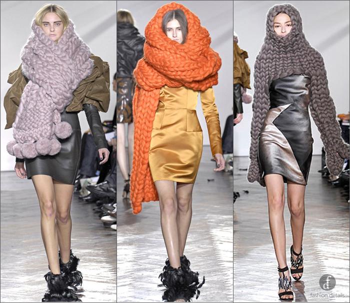 Стильные и удобные воротники-хомуты могут заменить и головной убор, и шарф, так как закрывают шею.