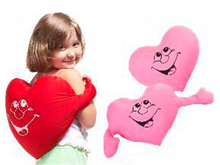 Сердце с руками - Подушки-игрушки / Серия Антистресс