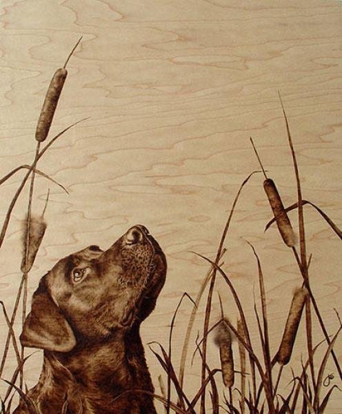 """Далее  """"Художественное выжигание от Джули Бендер.  Выжигание по дереву - пирография - известно со времен Древнего..."""