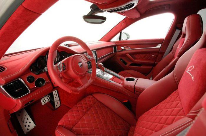 красный салон автомобиля (700x463, 53Kb)