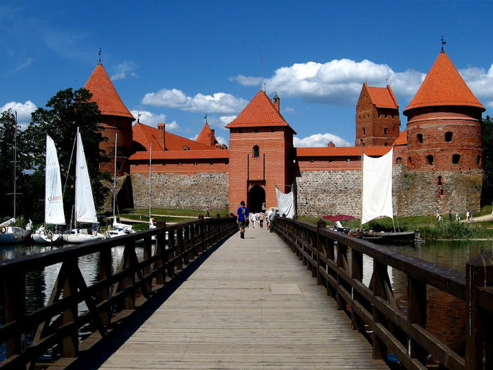 Тракайский замок недалеко от Вильнюса 90569