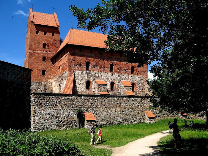 Тракайский замок недалеко от Вильнюса 50044