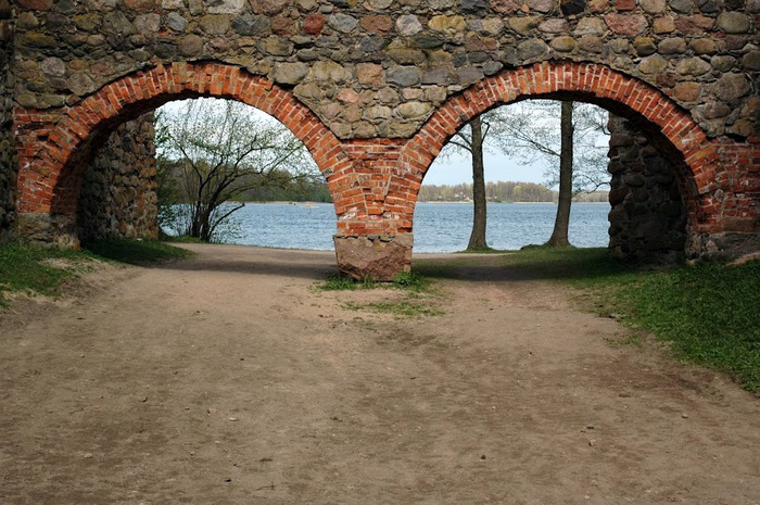 Тракайский замок недалеко от Вильнюса 88274