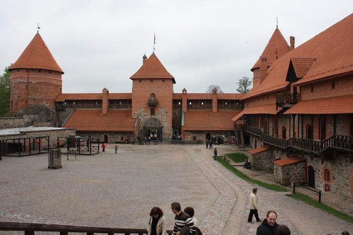Тракайский замок недалеко от Вильнюса 60046