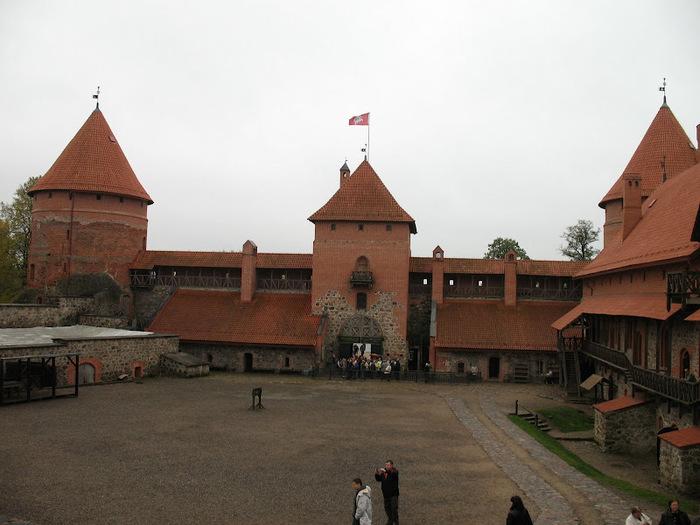 Тракайский замок недалеко от Вильнюса 58924