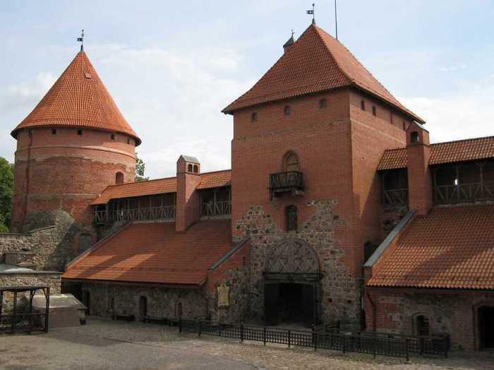 Тракайский замок недалеко от Вильнюса 53408