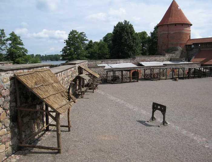 Тракайский замок недалеко от Вильнюса 86025