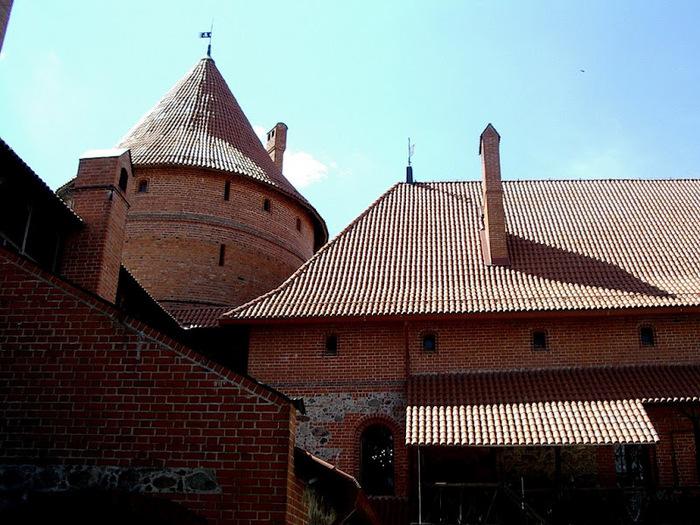 Тракайский замок недалеко от Вильнюса 75820
