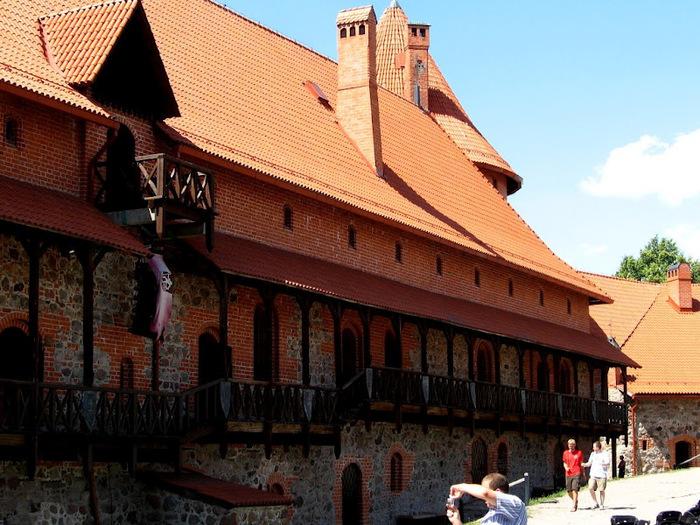 Тракайский замок недалеко от Вильнюса 49605