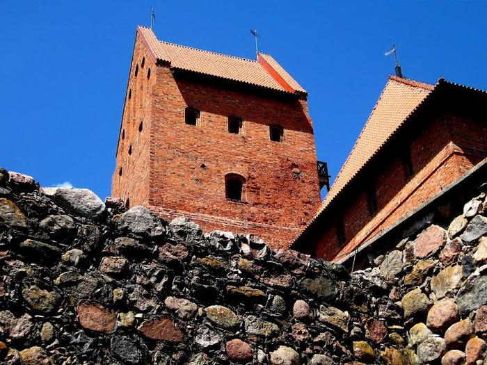 Тракайский замок недалеко от Вильнюса 39675