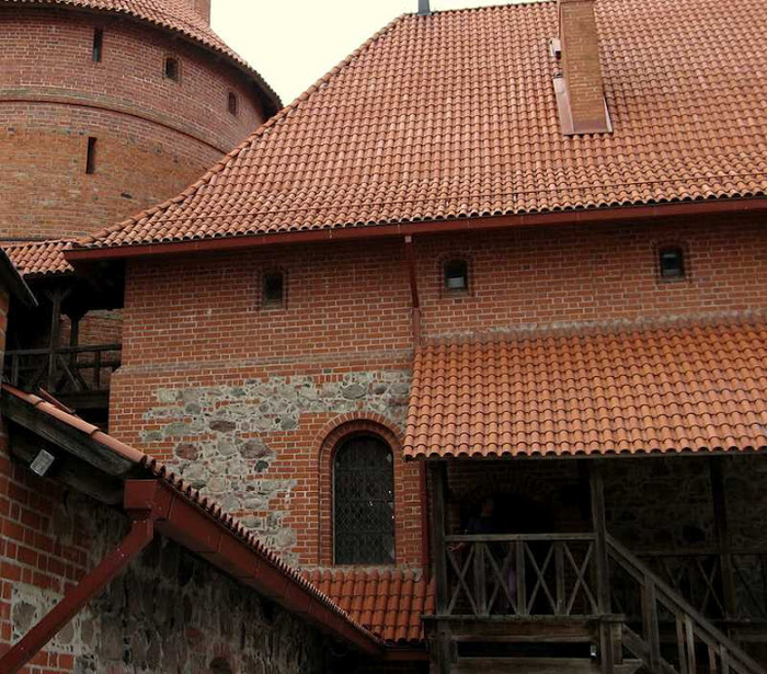 Тракайский замок недалеко от Вильнюса 17489