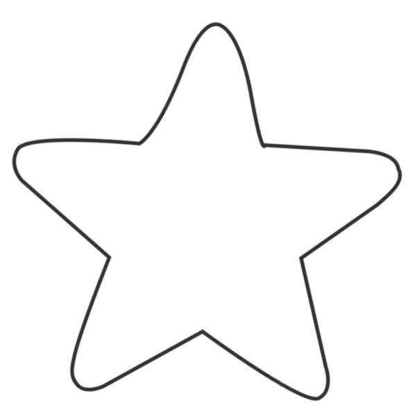 звездочки трафарет картинки