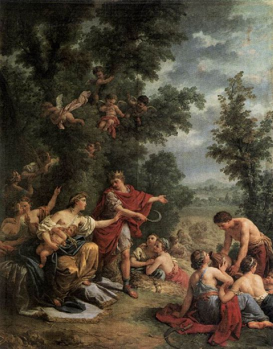������� ��� ��� ������� - Ceres Teaching Agriculture To King Triptolemus  1769 (547x700, 89Kb)