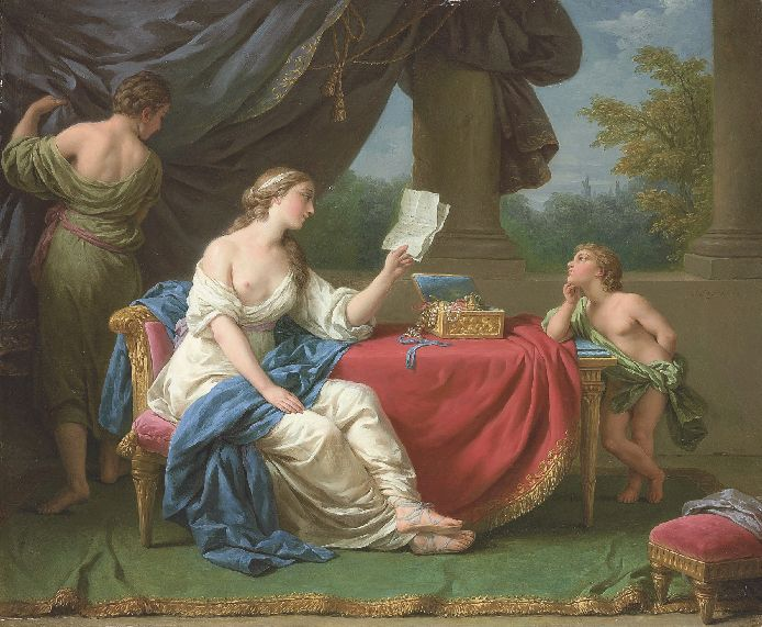 ������� ��� ��� ������� - Penelope Reading A Letter From Odysseus (694x571, 82Kb)