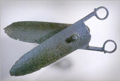 Железные ножницы. Восточное Средиземноморье, 14 в. (400x272, 25Kb)
