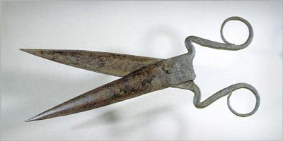 Персидские портняжные ножницы, 17 в. (400x200, 18Kb)