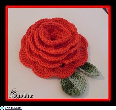 розы вязанные крючком схемы - Сумки.
