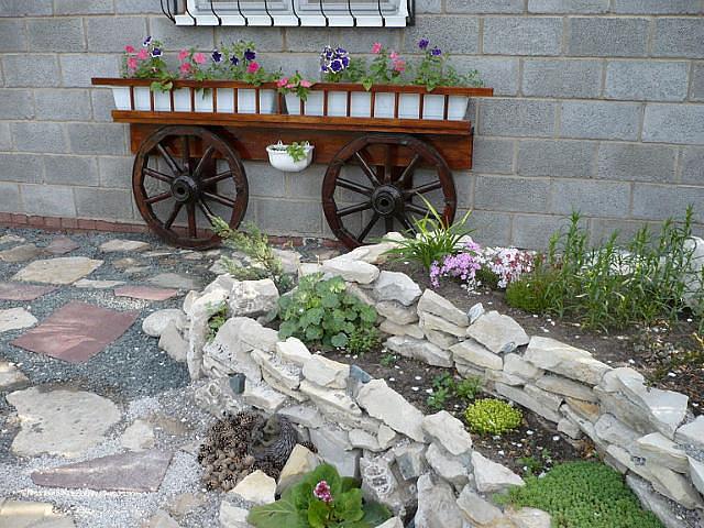 Сад и огород оформление своими руками фото