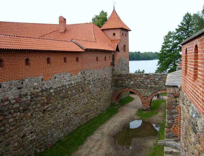 Тракайский замок недалеко от Вильнюса 46926