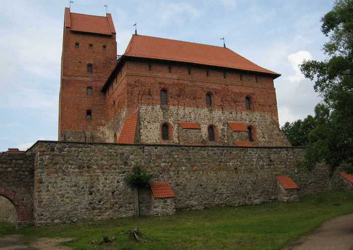 Тракайский замок недалеко от Вильнюса 84224