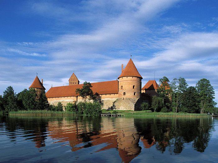 Тракайский замок недалеко от Вильнюса 14211