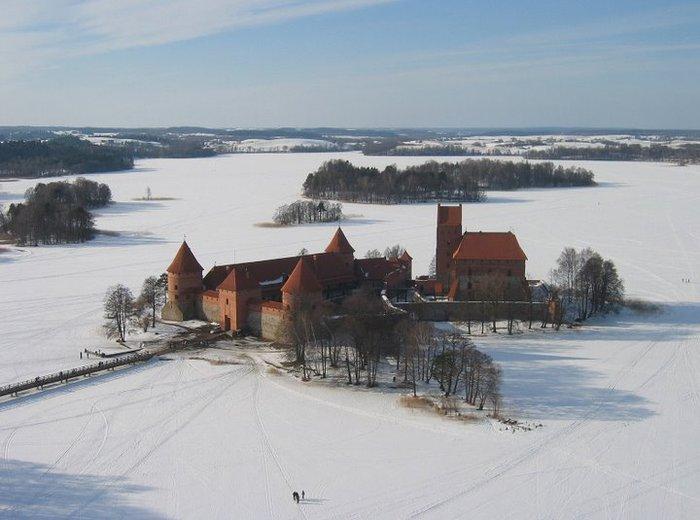 Тракайский замок недалеко от Вильнюса 45480
