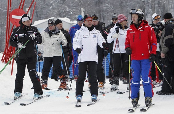 Мужские горные лыжи, Кубок мира в Роза Хуторе близ Сочи, 11 февраля 2012 года./3394282_87 (610x399, 85Kb)