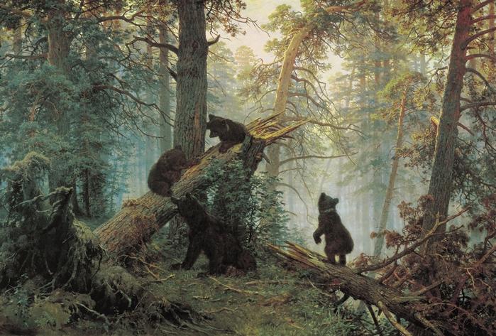 Царь леса. Шишкин И.И.