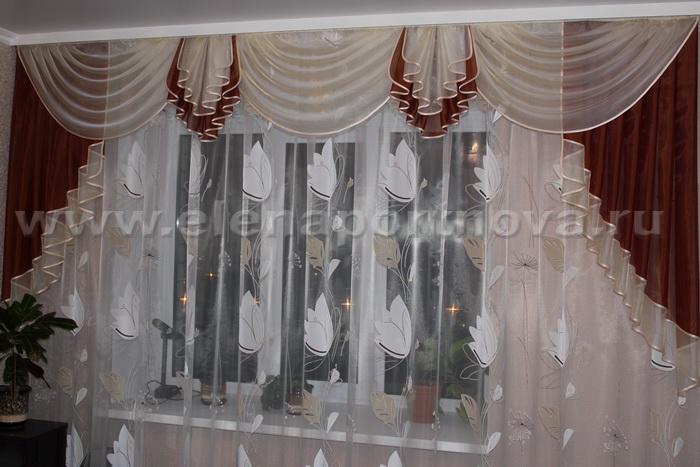 Пошив штор с ламбрекенами своими руками бесплатно