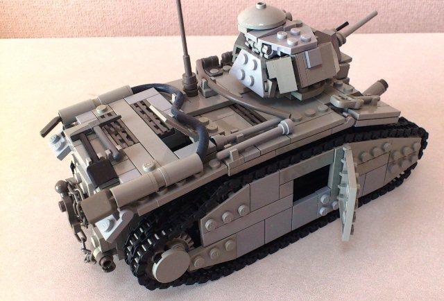 Как сделать из лего танк е100 видео