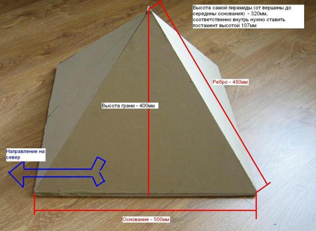 Пирамиды для здоровья своими руками 9