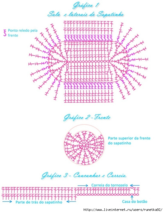 gráfico sapatinho de croche lacinho (537x700, 225Kb)