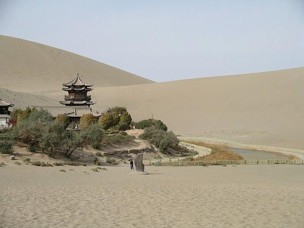 Старинный оазис посреди пустыни Такла-Макан  14 (600x450, 62Kb)